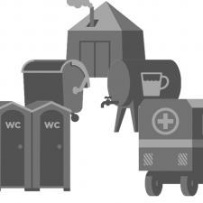 Облаштування КПВВ на сході України